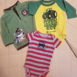 Baby Boy 8 piece Lot -Bundle 3-6 Months